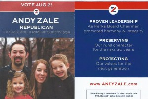 Andy Zale flier