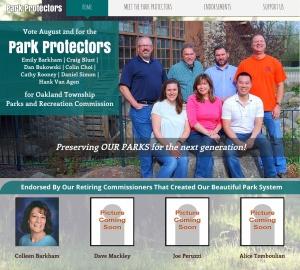 Parks Commission candidates